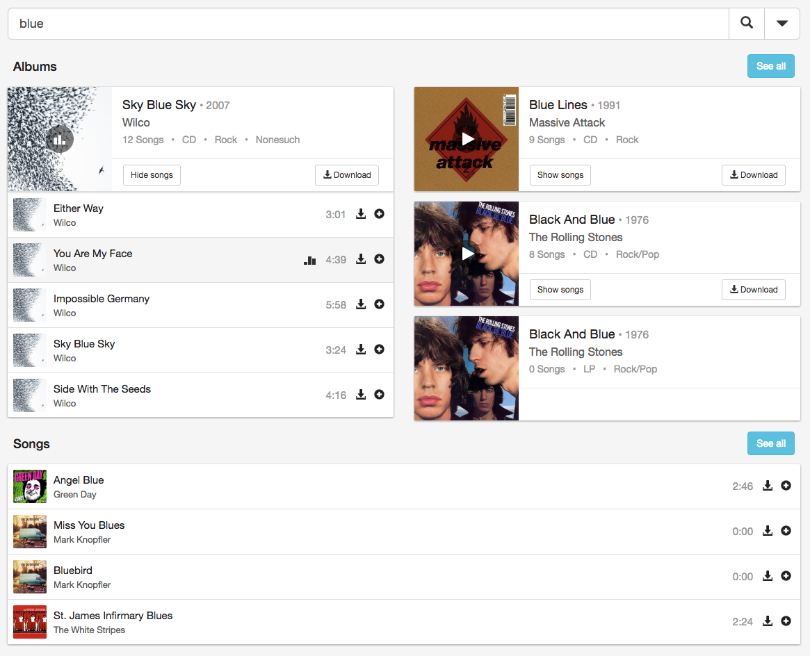 Music Collection || Music Management System - JoomlaThat!